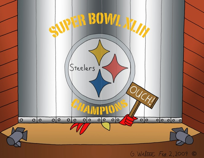 Iron curtain steelers